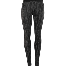 Icebreaker 250 Vertex Leggings Women Black/Snow